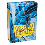 Dragon Shield Japanese Matte Sky Blue Card Sleeves