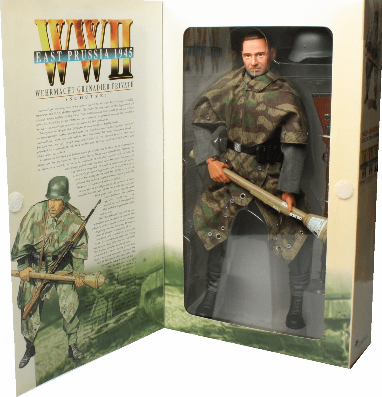 Dragon WWII East Prussia 1945 Wehrmacht Grenadier Private Wolf Figure