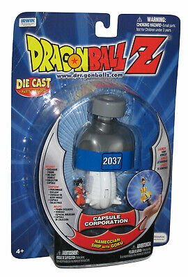 Dragonball Z Capsule Corp. Spaceship with Goku Figure
