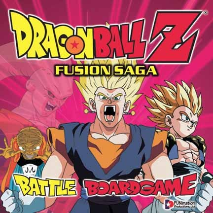 Dragonball Z Fusion Saga Battle Board Game
