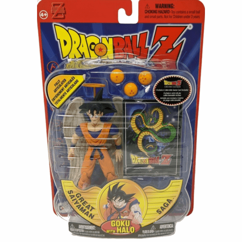 Dragonball Z Great Saiyaman Saga Goku with Halo Figure