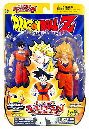 Dragonball Z Secret Saiyan Warriors Goku & SS Goku Figure