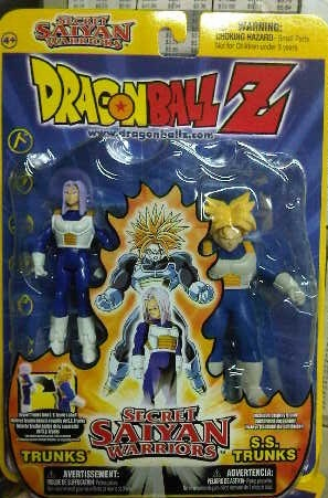 Dragonball Z Secret Saiyan Warriors Trunks & SS Trunks Figure