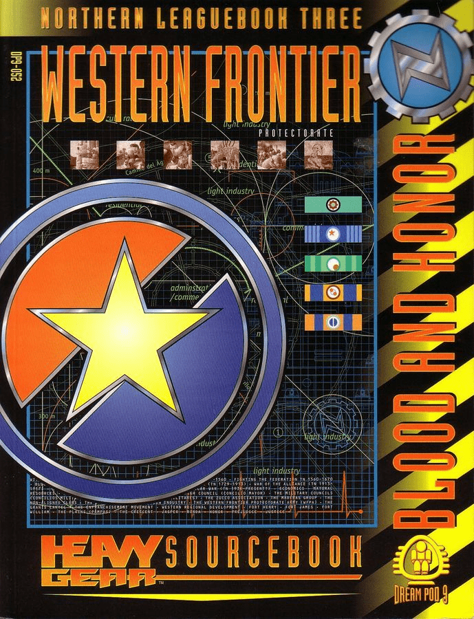 Dream Pod 9 Heavy Gear CNCS Leaguebook Western Frontier Protectorate