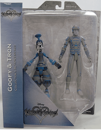 DST Kingdom Hearts Goofy and Tron Figure Set