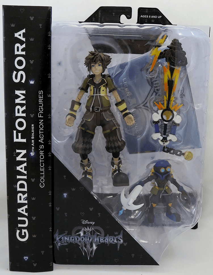 DST Kingdom Hearts Guardian Form Sora Figure Set