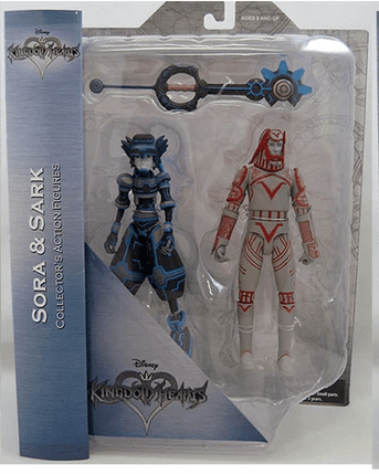 DST Kingdom Hearts Sora and Sark Figure Set