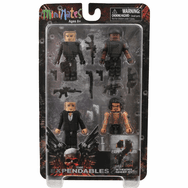 DST Minimates The Expendables Set