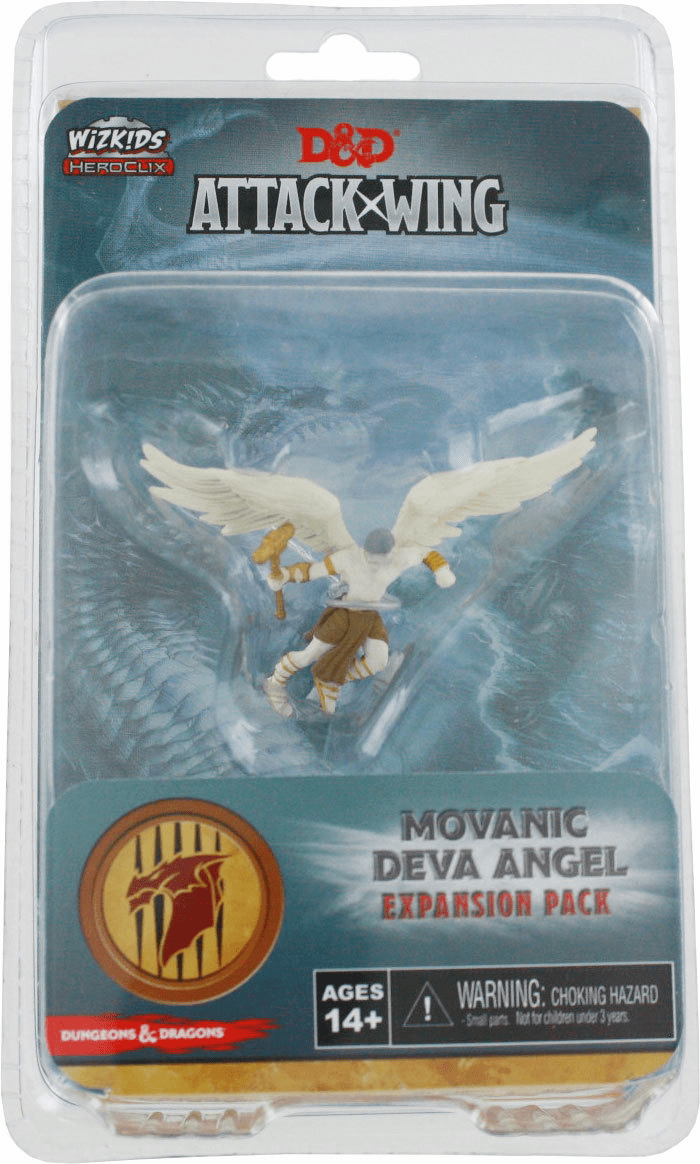 Dungeons & Dragons Attack Wing Movanic Deva Angel Expansion Pack