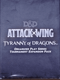 D&D Attack Wing Tyranny of Dragons OP Expansion Booster Pack