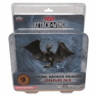 Dungeons & Dragons Attack Wing Young Bronze Dragon Expansion Pack