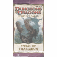 Dungeons & Dragons Fortune Cards Spiral of Tharizdun Booster Pack
