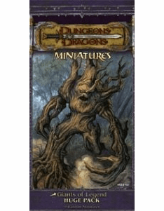 Dungeons & Dragons Giants Huge Miniatures Booster Pack
