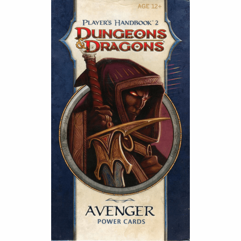 Dungeons & Dragons Player's Handbook 2 Avenger Power Cards