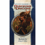 Dungeons & Dragons Player's Handbook 2 Bard Power Cards