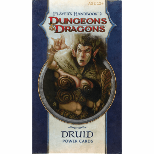 Dungeons & Dragons Player's Handbook 2 Druid Power Cards
