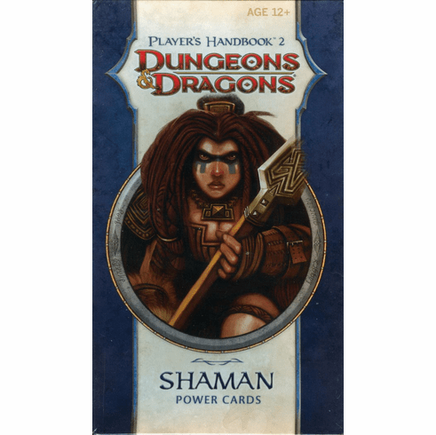 Dungeons & Dragons Player's Handbook 2 Shaman Power Cards