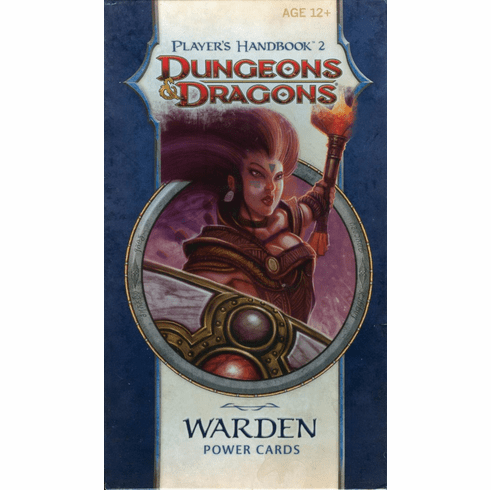 Dungeons & Dragons Player's Handbook 2 Warden Power Cards