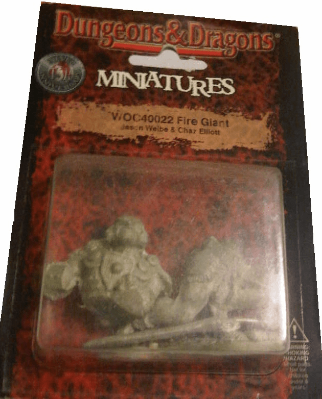 Dungeons & Dragons Silver Anniversary Fire Giant Miniature