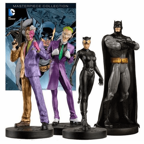 Eaglemoss DC Masterpiece #1 Batman 75th Anniversary Figurine Set