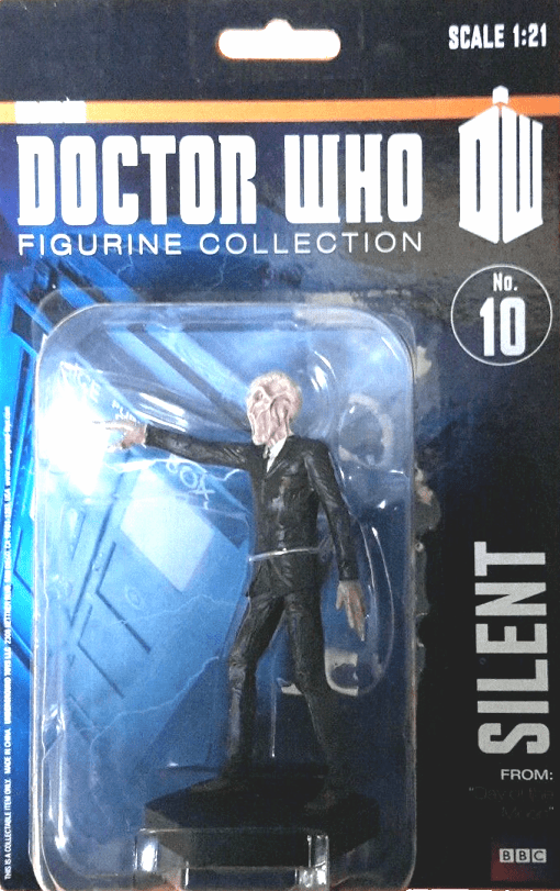 Eaglemoss Doctor Who Collection The Silent Figurine