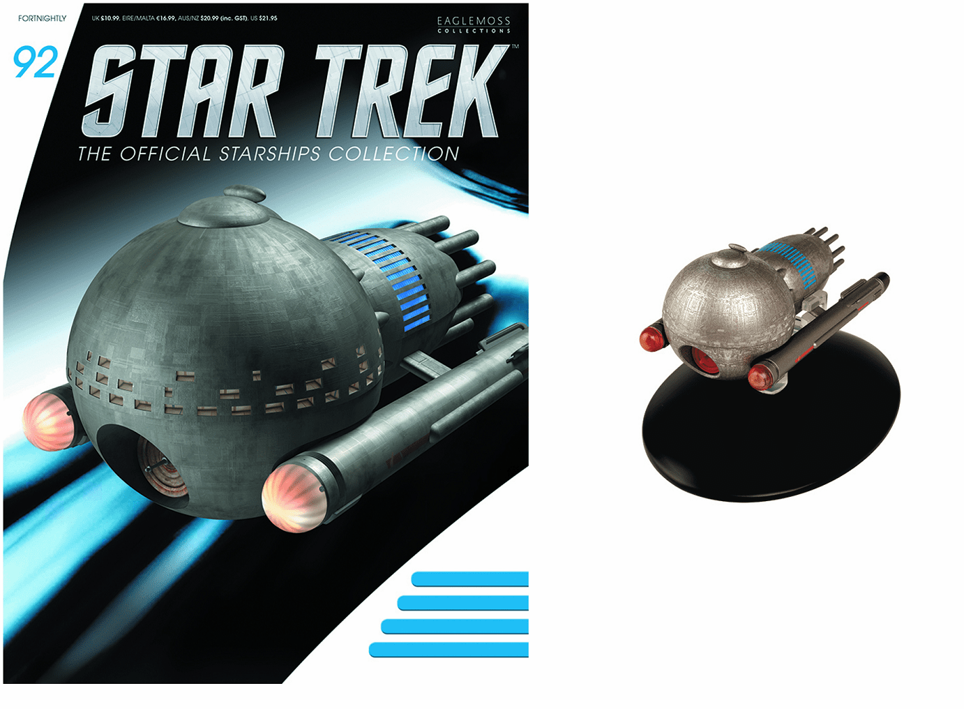 Eaglemoss Star Trek Ship Collection Magazine 92 Medusan Ship