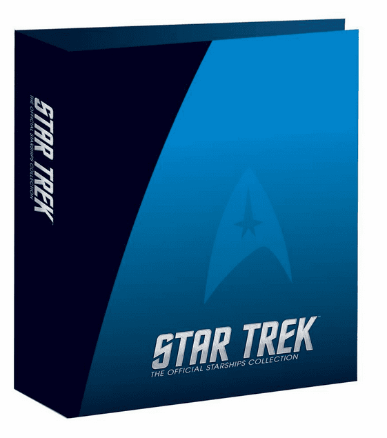 Eaglemoss Star Trek Starships Collection Magazine Binder