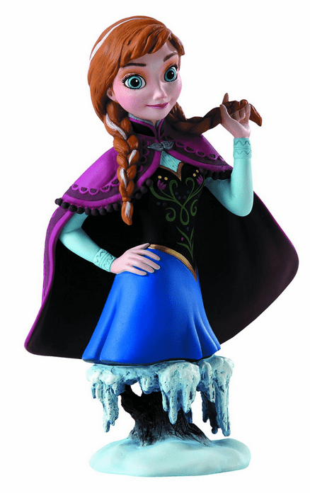 Enesco Grand Jester Frozen Anna Mini-Bust