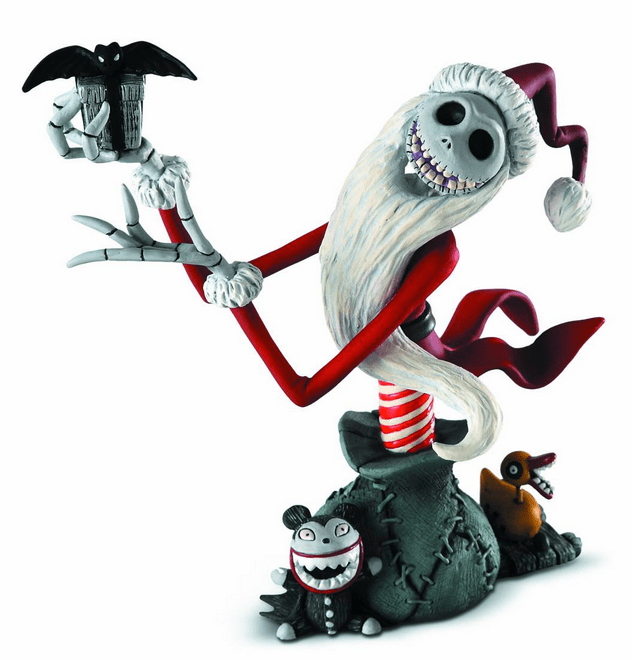 Enesco Grand Jester Santa Jack Skellington Mini Bust