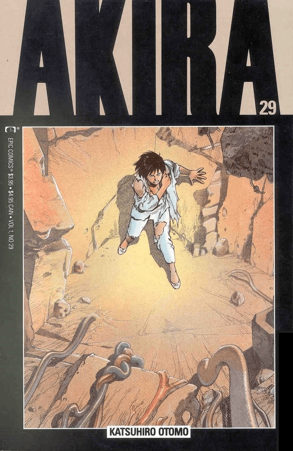 Epic Comics Akira #29 Comic Book
