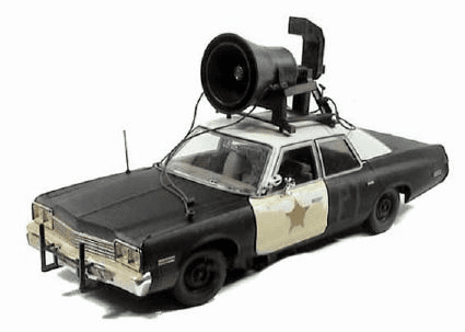 ERTL Blues Brothers Bluesmobile Die Cast Car