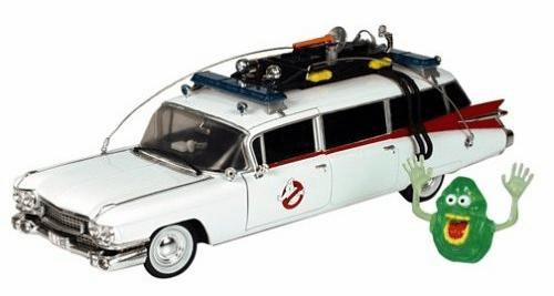 ERTL Ghostbusters Ecto 1 Die Cast Car