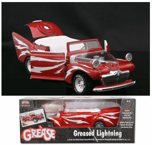 ERTL Greased Lightning 1:18 Scale Die Cast Car