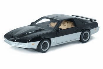 ERTL Knight Rider Karr Die Cast Car