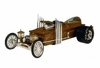 ERTL Munsters Dragula Die Cast  Car