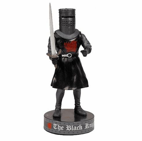 Factory Entertainment Monty Python Black Knight Deluxe Talking Bobble Head