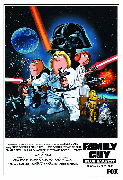 Family Guy Blue Harvest Lithograph