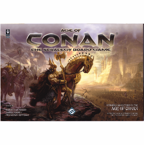 Fantasy Flight Games Age of Conan The Strategy Board Game
