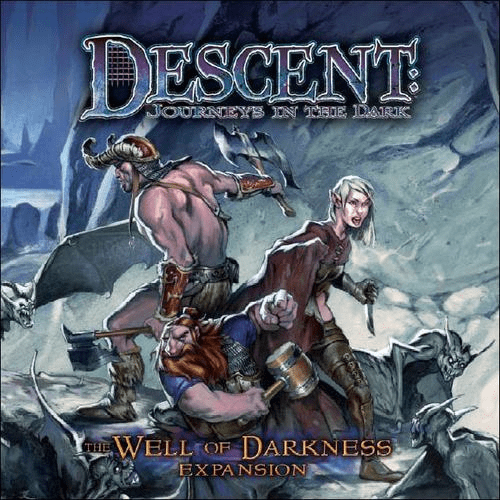 Fantasy Flight Games Descent Well of Darkness Board Game Expansion Set