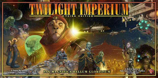Fantasy Flight Games Twilight Imperium Third Edition Board Game