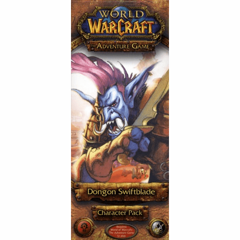 Fantasy Flight Games World of Warcraft Dongon Swiftblade Character Pack