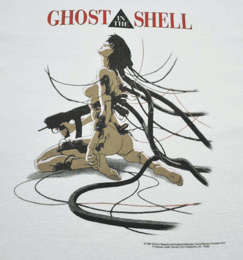 Fashion Victim Ghost in the Shell 1995 Motoko Kusanagi T-Shirt