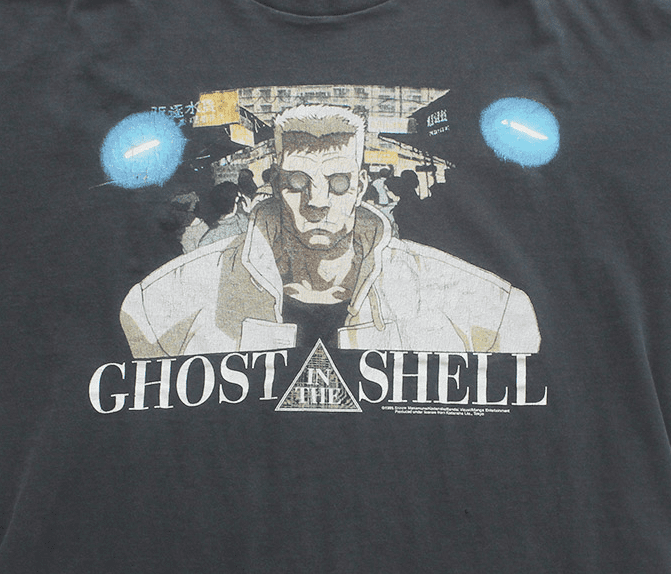 Fashion Victim Ghost in the Shell 1995 Batou T-Shirt