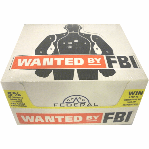 Federal Card Company Wanted by FBI Trading Cards Sealed Box