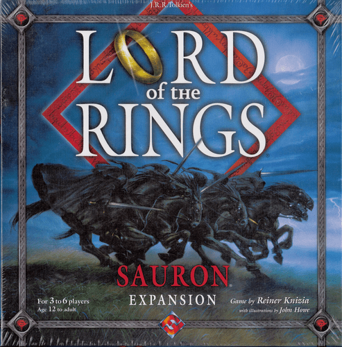 FFG Lord of the Rings Sauron Expansion Board Game