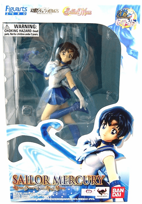 Figuarts Zero Sailor Moon Sailor Mercury Statue