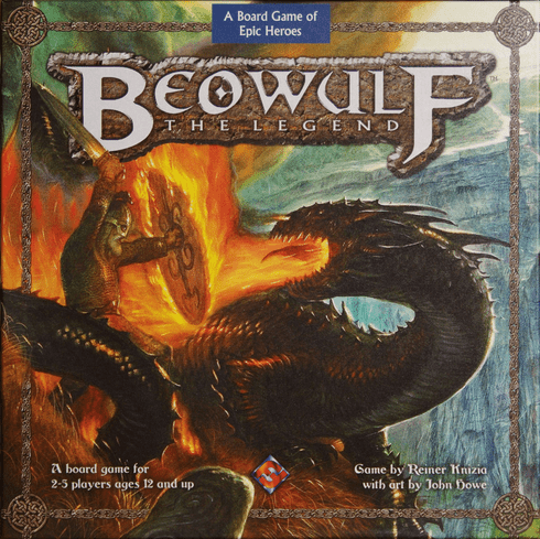 Final Fantasy Games Beowulf The Legend Board Game