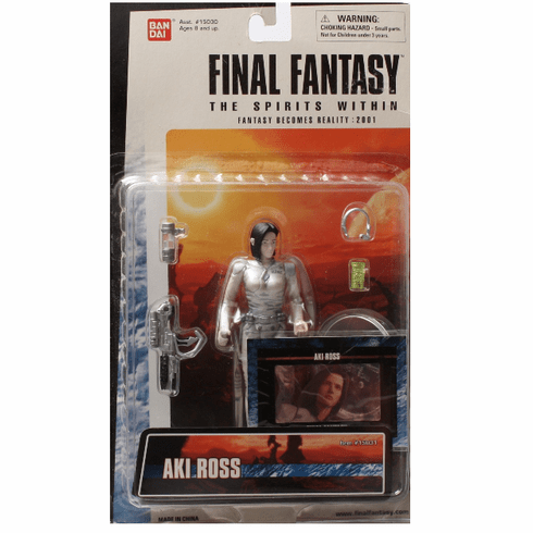 Final Fantasy Spirits Within Aki Ross Figure