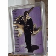 Final Fantasy Squall Leonhart Deck of Playing Cards