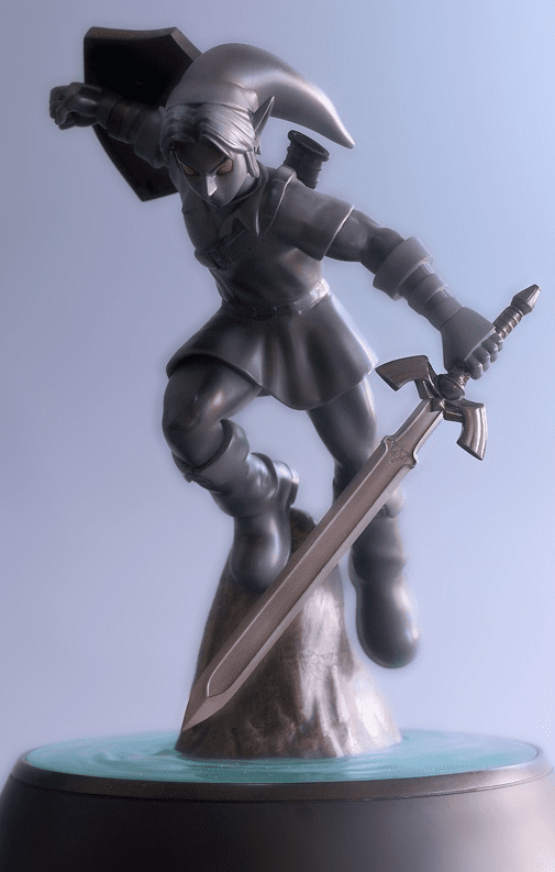 First 4 Figures Legend of Zelda Dark Link Statue